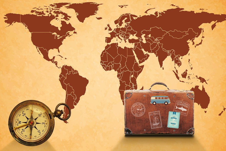 Free photo map of the world map navigation compass luggage max pixel map of the world compass luggage map navigation gumiabroncs Images