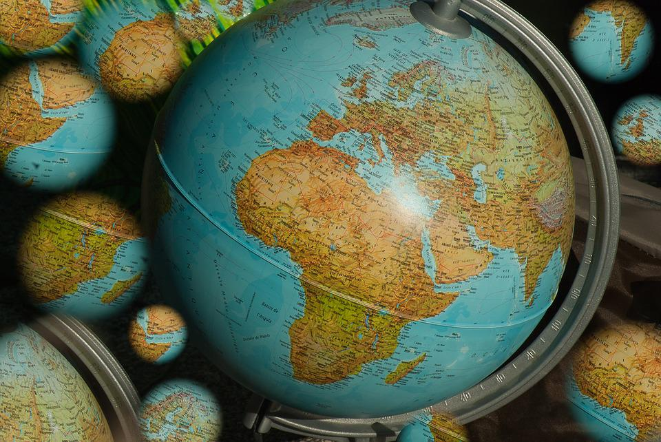 Free photo Map Of The World World Map Terrestrial Globe Planet