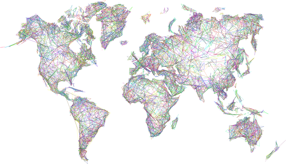 Free photo map world geometric art abstract borders earth max pixel world map earth abstract geometric art borders gumiabroncs Images