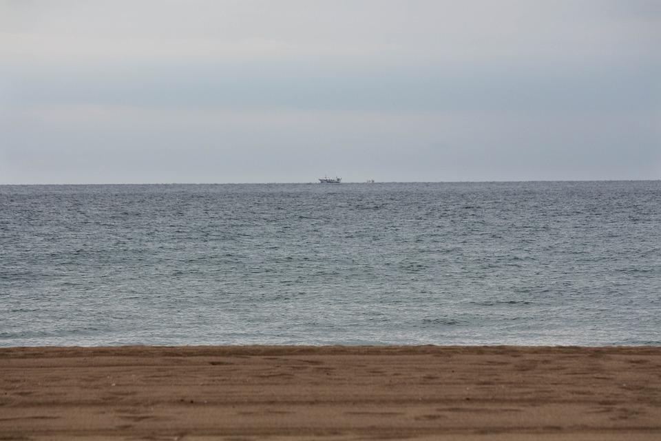 Playa, Mar, Horizonte