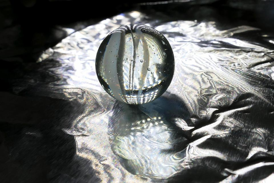 Glass, Glass Ball, Marble, Ball, Transparent, Mirroring