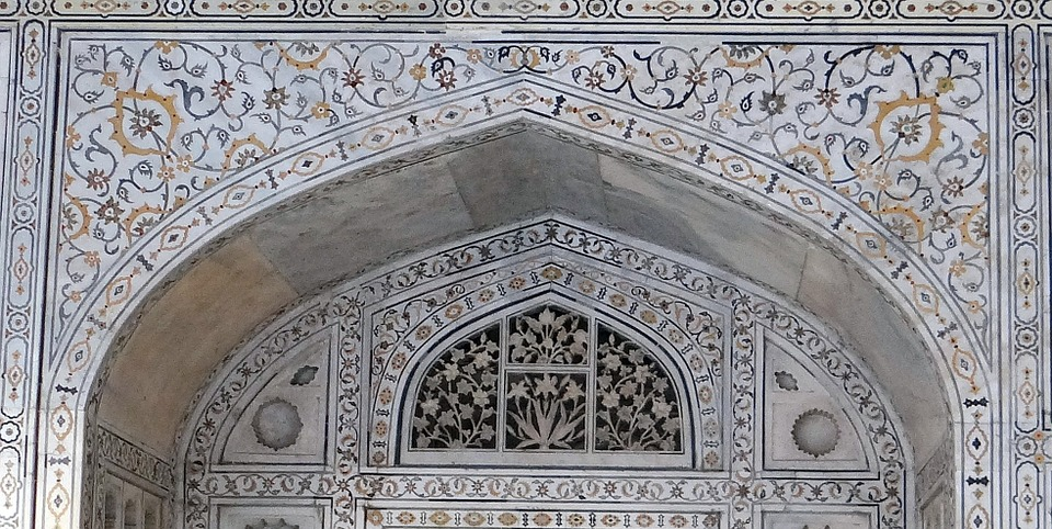 Interior, Marble Inlay, Precious Stones Inlaid