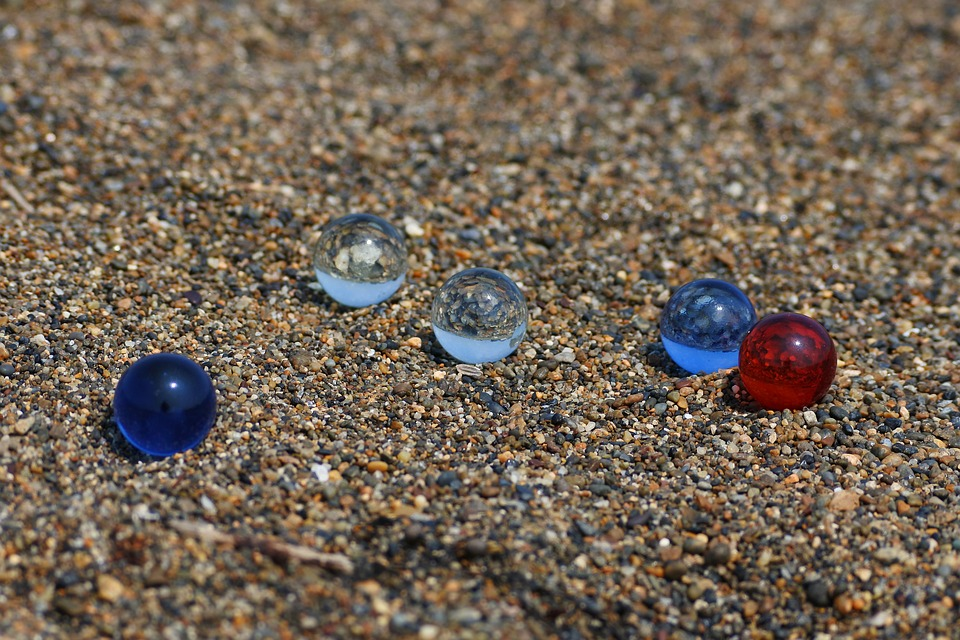 Natural, Landscape, Beach, Sand, Glass, Marble