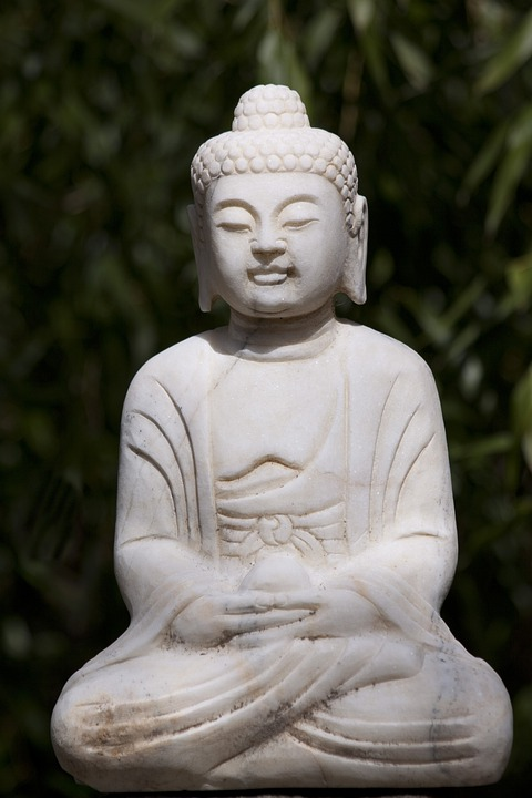 Buddha, Fig, Marble, Sculpture, Stone, Statue