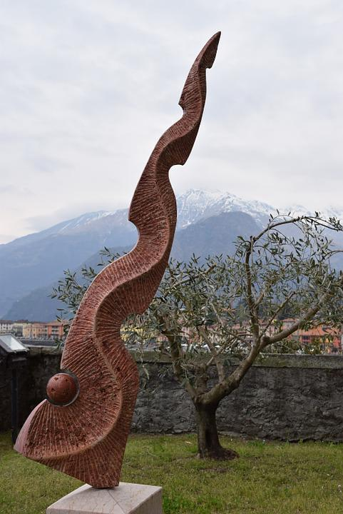 Sculpture, Stone, Stone Sculpture, Marble, Italy