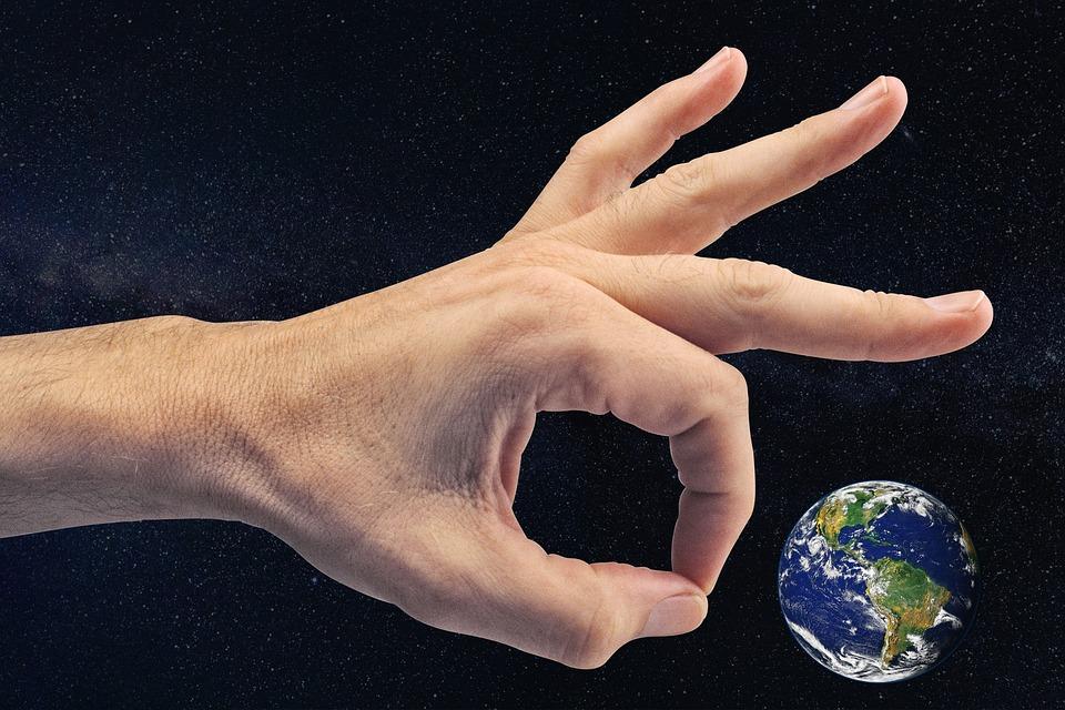 Free photo Marbles Small Play Kick Earth Giant World God - Max Pixel