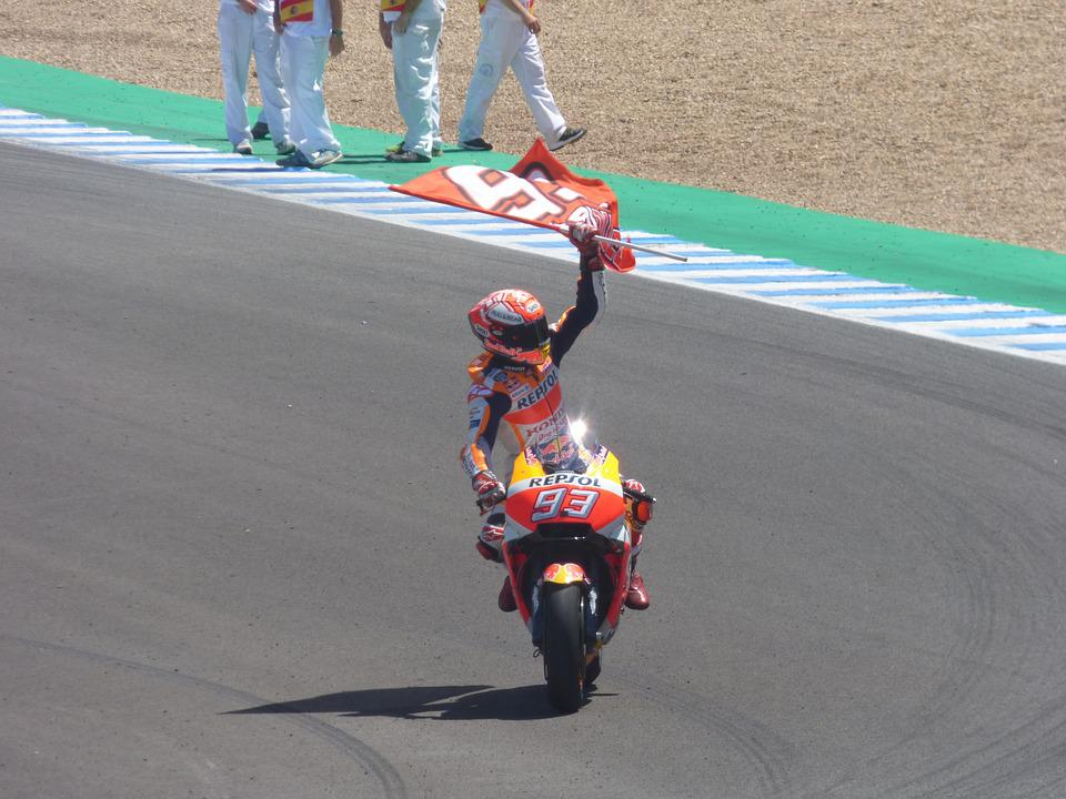 Motorbike, Race, Circuit, Winner, Bike, Marc Marquez