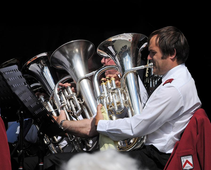 Tuba, Orchestra, Brass, Sound, Concert, Marching Band