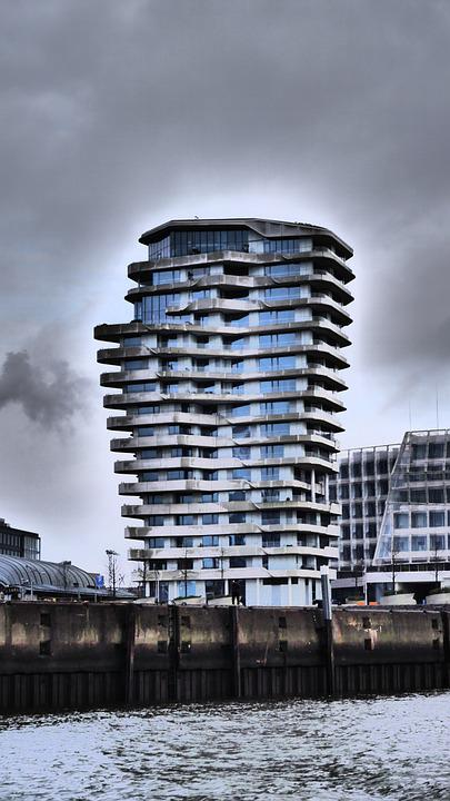 Harbour City, Hamburg, Hanseatic City, Marco-polo-tower