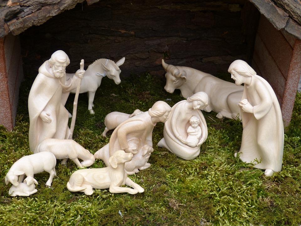 Christmas, Advent, Nativity Scene, Crib, Maria, Josef