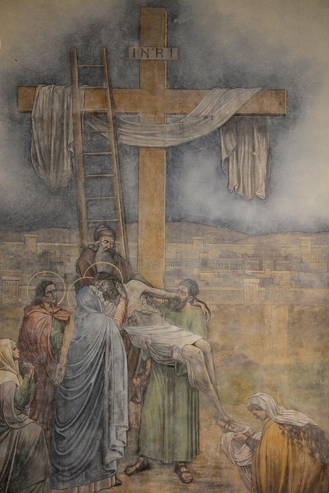 Crucifix, Acceptance, Jesus, Maria, Christianity