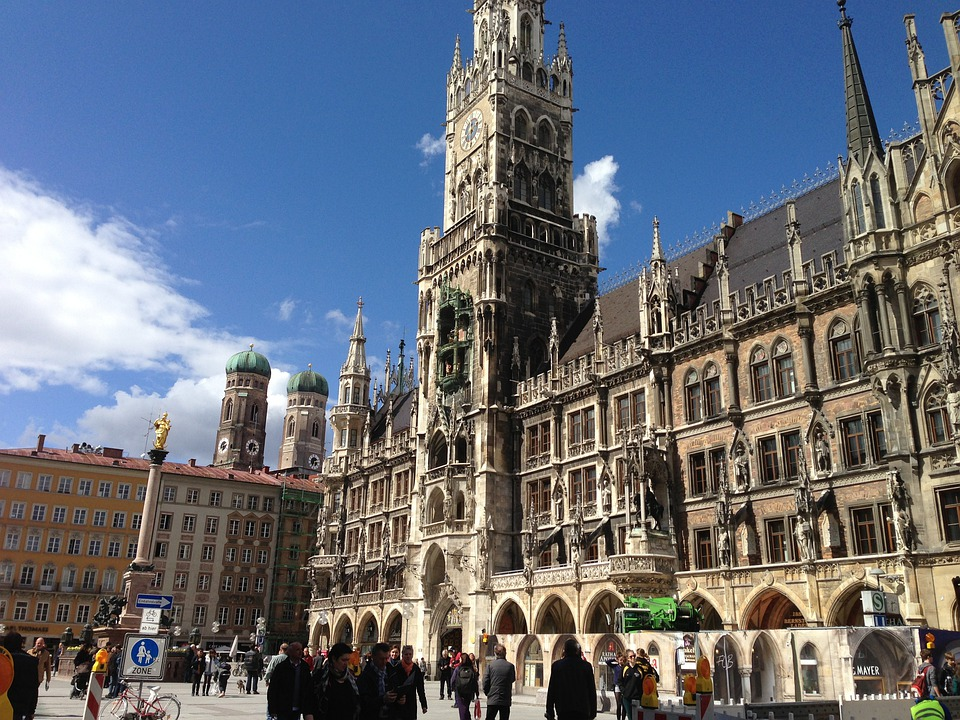 Munich, Marienplatz, State Capital, Town Hall, Bavaria