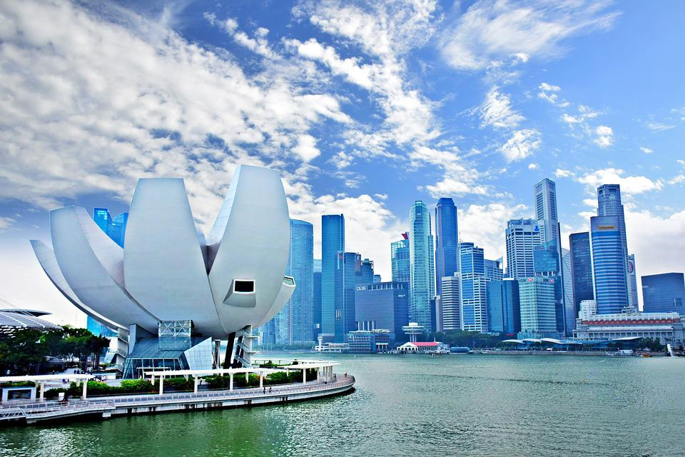 Marina Bay, Singapore, Ao, City, Skyscraper