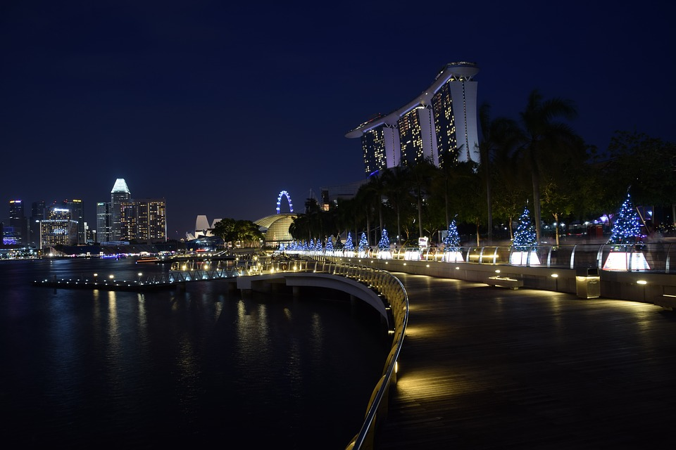 Marina Bay, Singapore, Waterfront