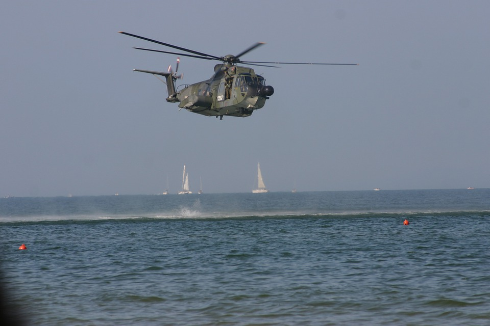 Helicopter, Marina, Military