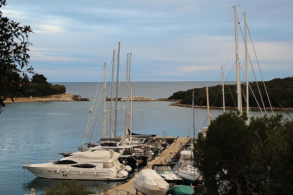 Port, Yacht, Powerboat, Yachts, Marina