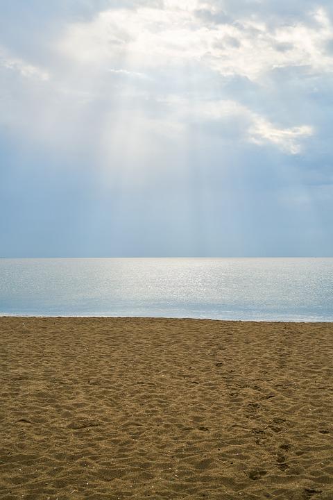 Beach, Marine, Beautiful, Landscape, Background, Nature