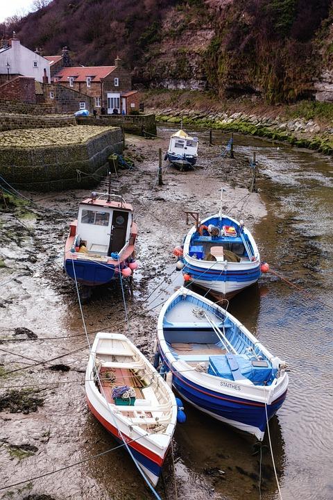 Fishing, Boat, Village, Water, Travel, Nature, Marine