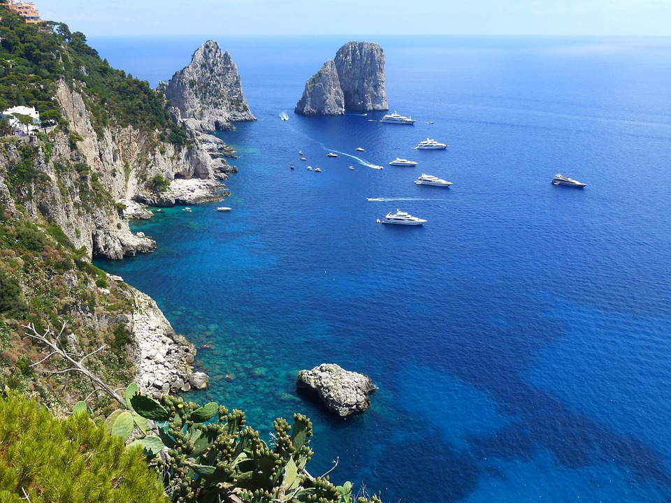Capri, Marine, Cliffs