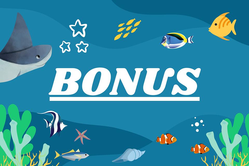 Bonus, Gift, Special, Promo, Marine, Underwater