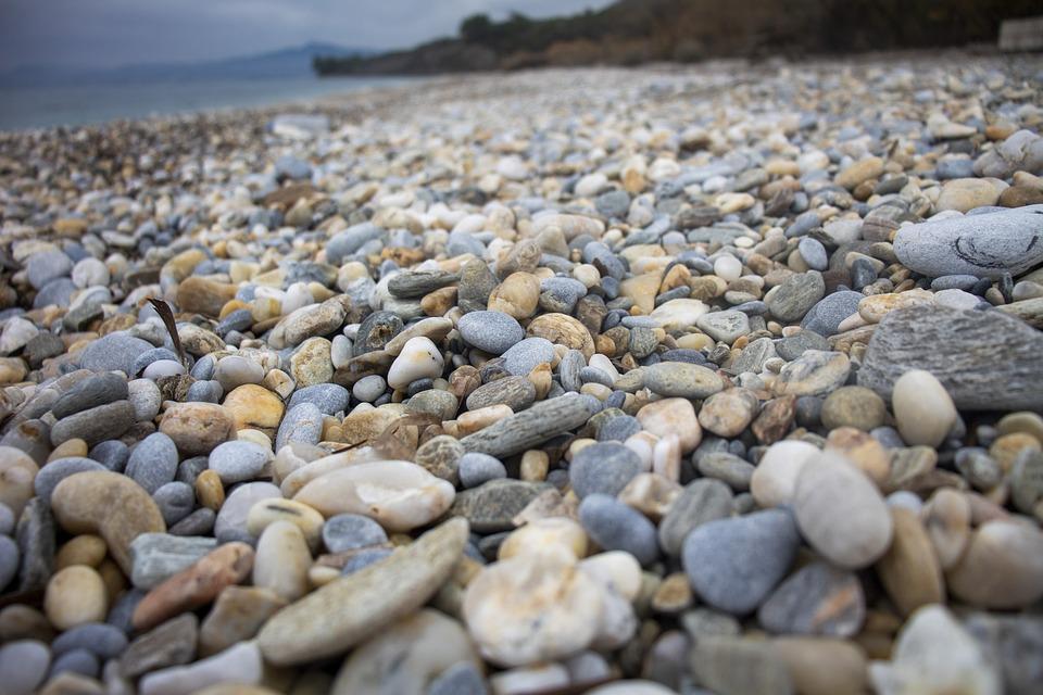 Gravel, Beach, Stone, Marine, Texture, Macro, Kennedy