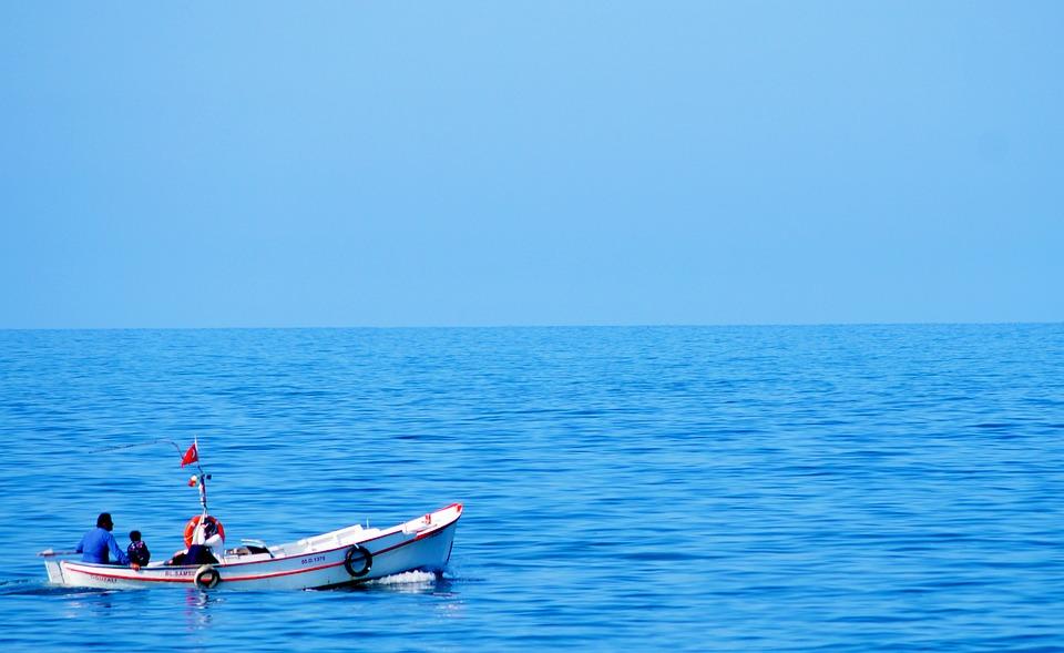 Marine, Boat, Landscape, Clouds, Background, Wallpaper
