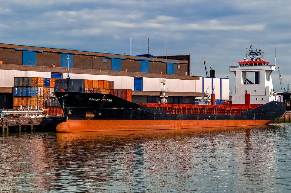 Vessel, Boat, Ship, Old, Harbour, Port, Marine