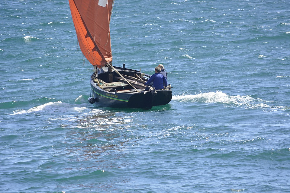 Sailing, Sailboat, Fishermen, Marine, Boat, Water, Sea