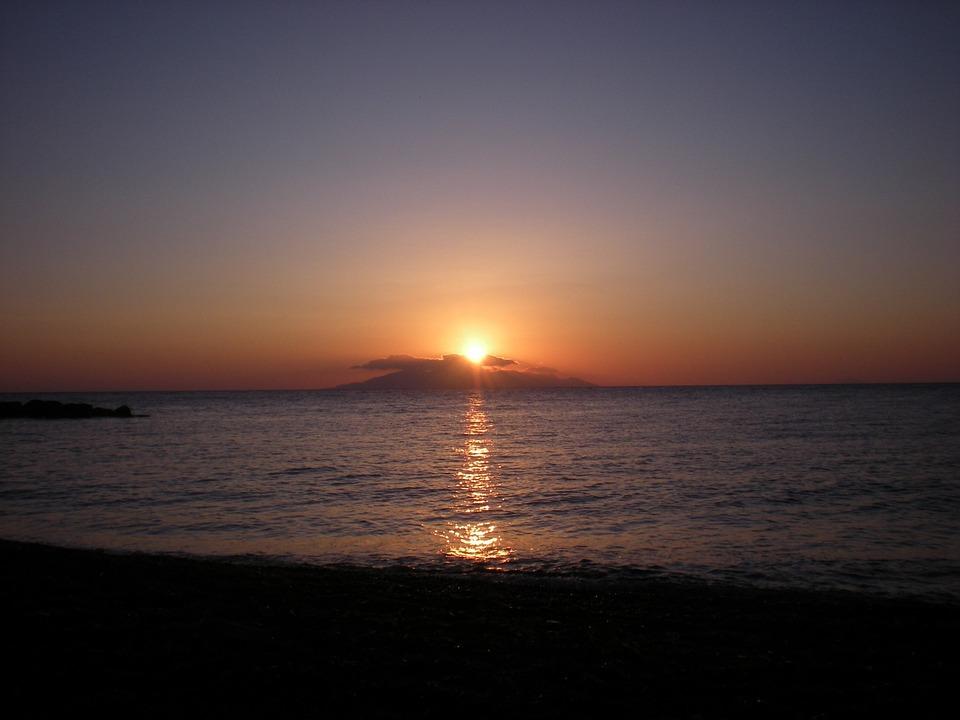 Santorini, Greek Island, Greece, Marine, Sunrise