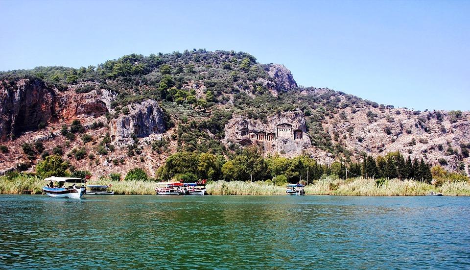 Marine, Ada, Landscape, Turkey, Mediterranean, Ege