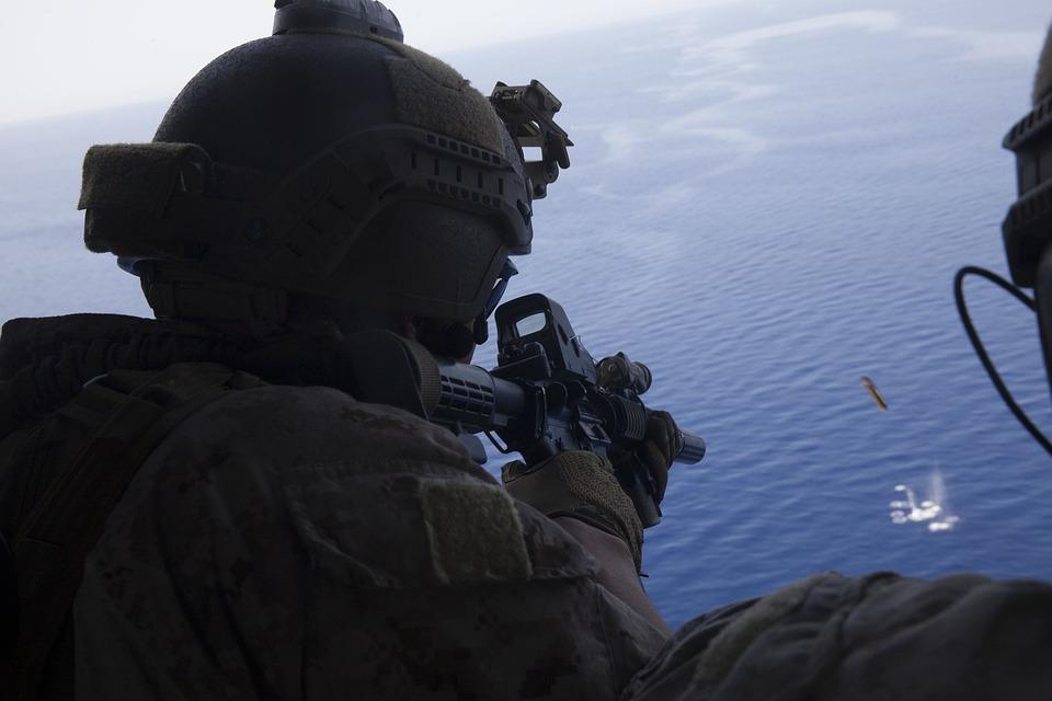 Meu, 24th Marine Expeditionary Unit, Marines, Usmc, M4