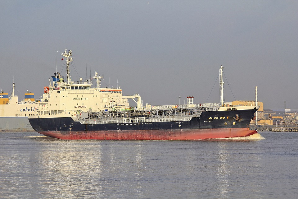 Ship, Tanker, Sea, Oil, Shipping, Maritime, Port, Cargo