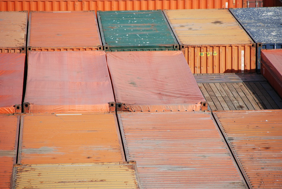 Containers, Castellón, Maritime Transport, Container