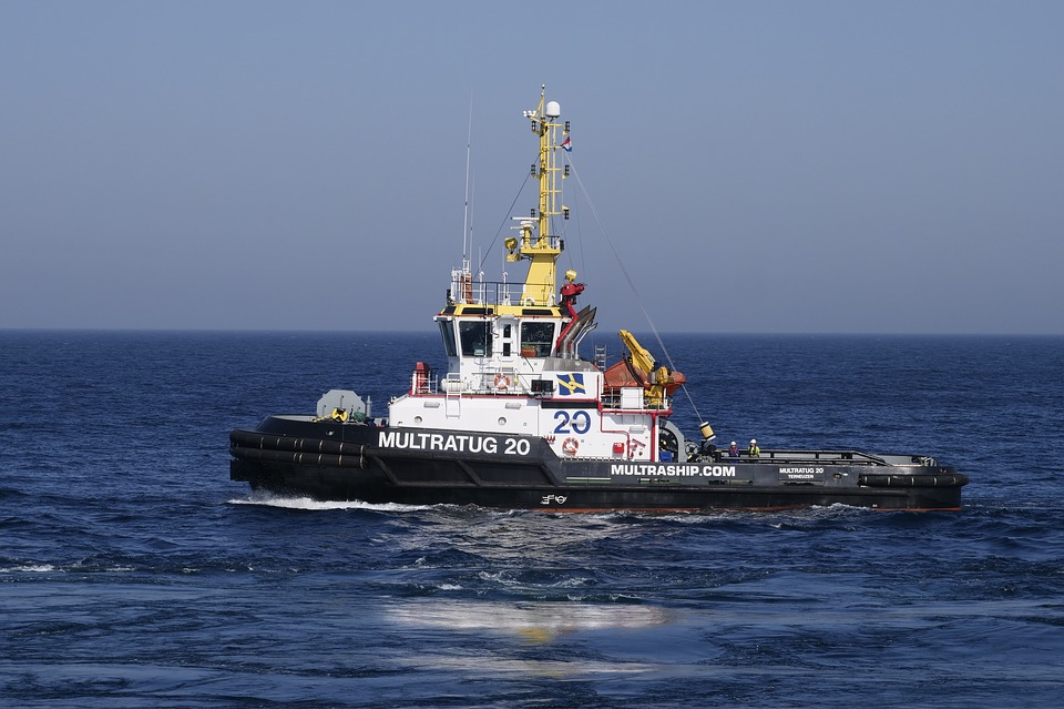 Tug, Towage, North Sea, Maritime Transport