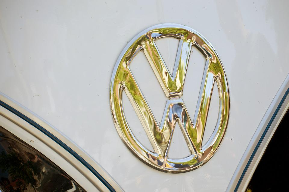 Volkswagen, Mark, Chrome, Doré, Car, Vehicle, Logo