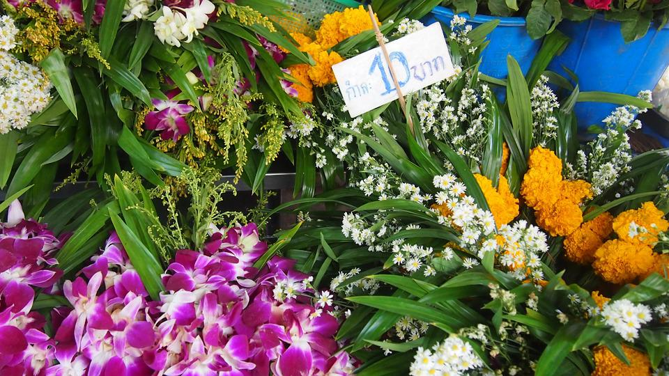 Flower, Market, Marked Price, Color, Flowers