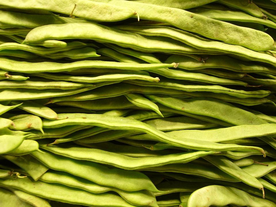 Beans, Vegetables, Green, Cook, Market, Healthy, Food