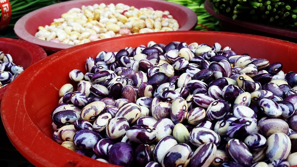 Bean, Market, Red, Behold, Fruit