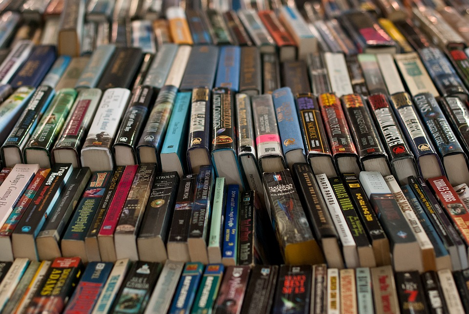 Retail, Library, Shelving, Market, Volumes, Books