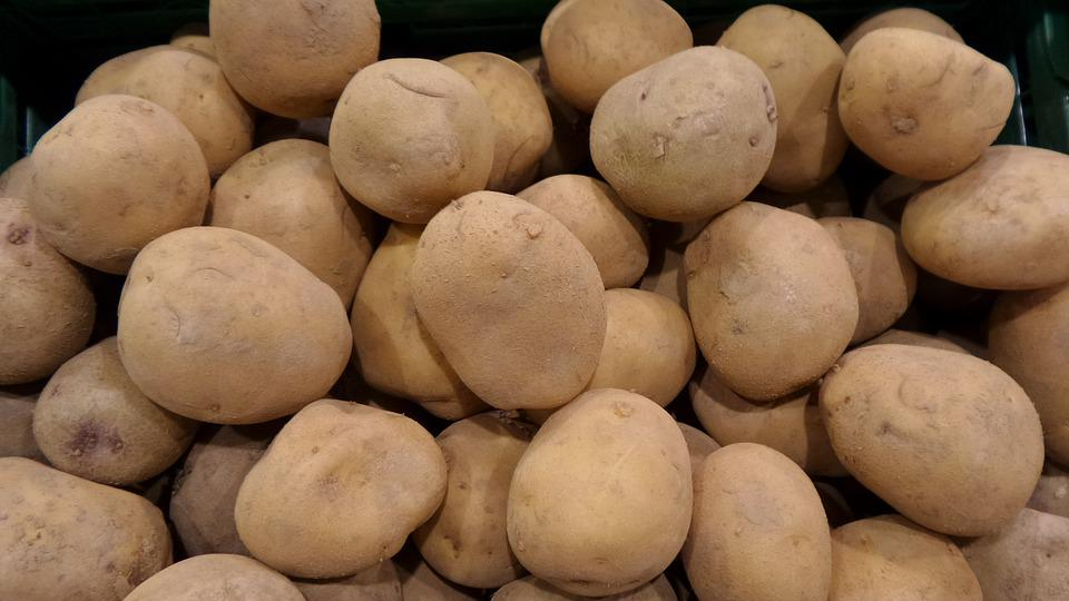 Potatoes, Vegetables, Tuber, Fruit, Business, Market