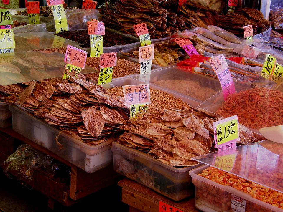 Chinatown, Market, Food, Street, Asian, Chinese