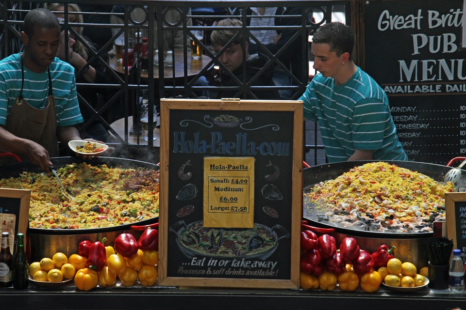 London, Covent Garden, Landmark, Site, Eating, Market