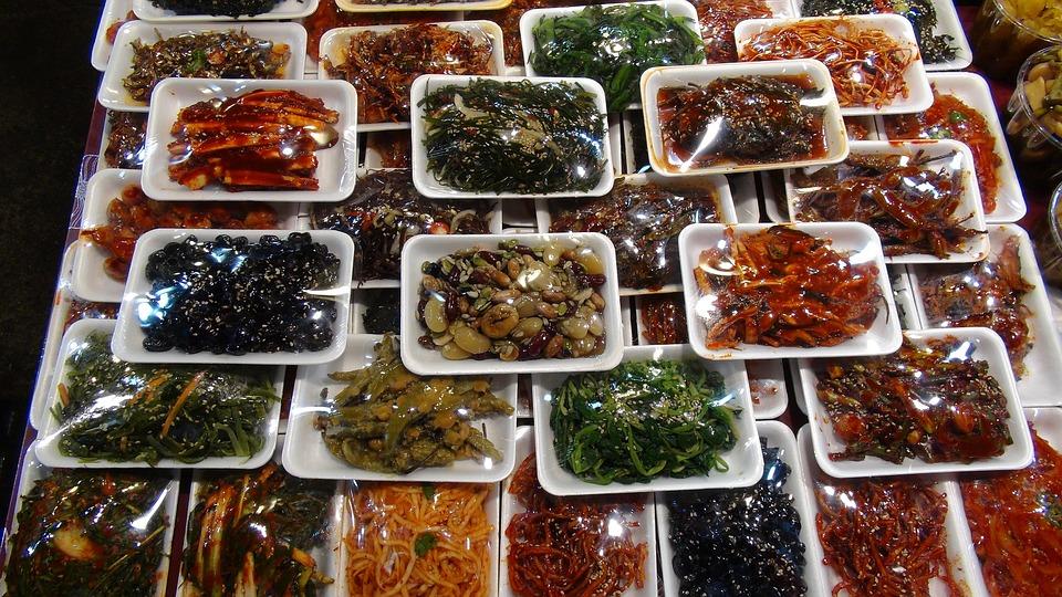 Market, South Korea, Farbenspiel