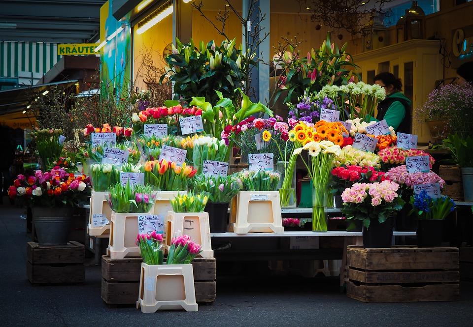 Market, Flowers, Farmers Local Market, Flowers Was