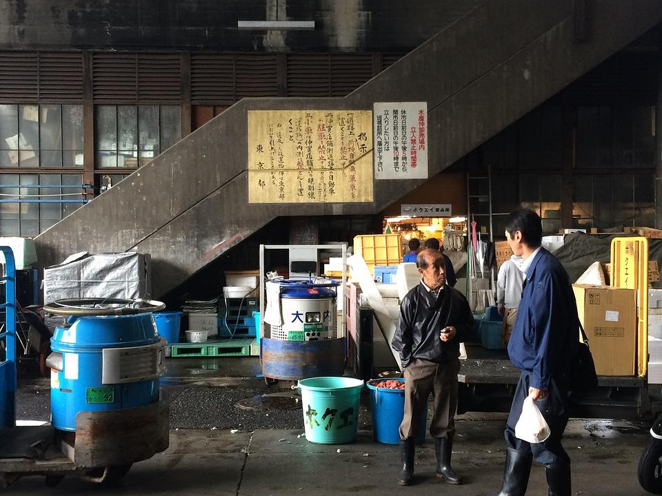 Business, Market, Fish