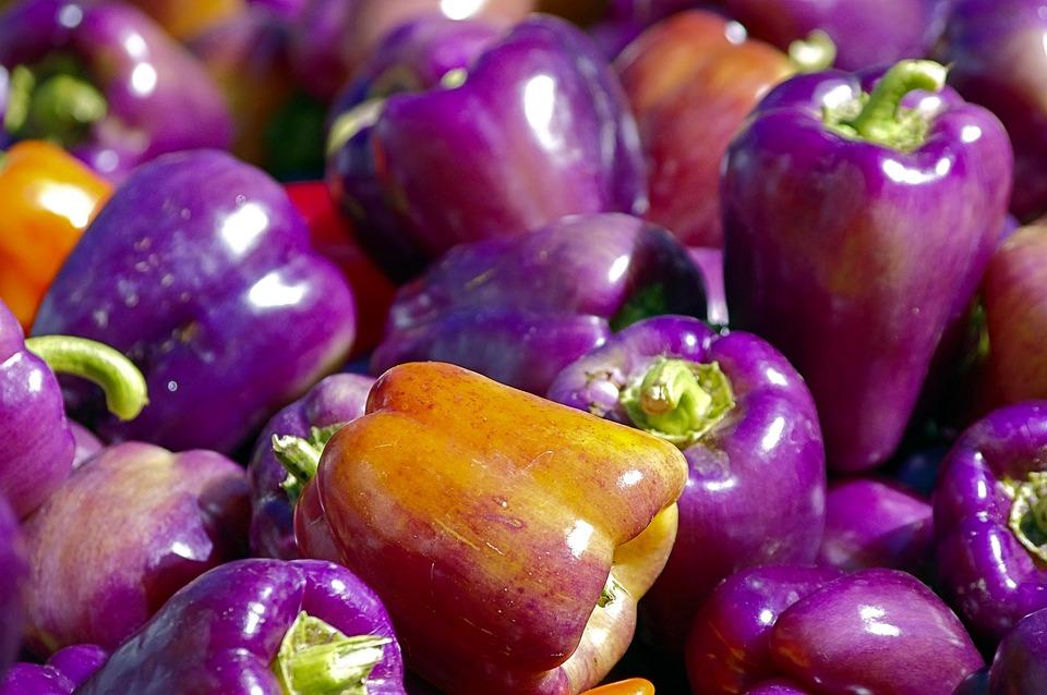 Market Fresh Bell Peppers, Pepper, Bell, Vegetables