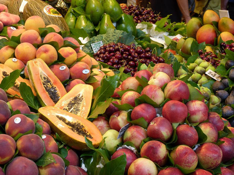 Fruit, Market, Spread