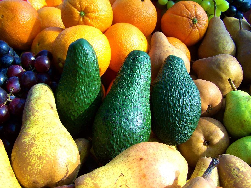 Mixed Fruit, Market, Color