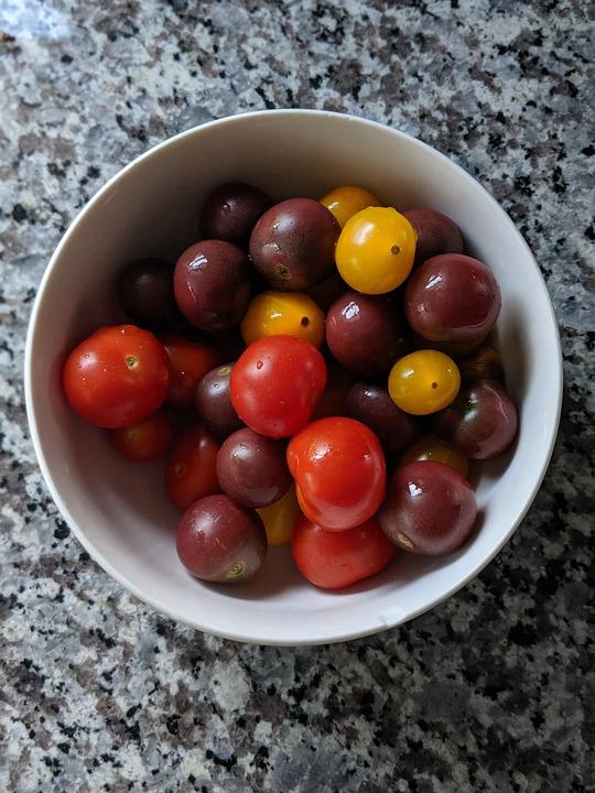 Heirloom, Tomato, Organic, Farmer, Market, Grocer, Red