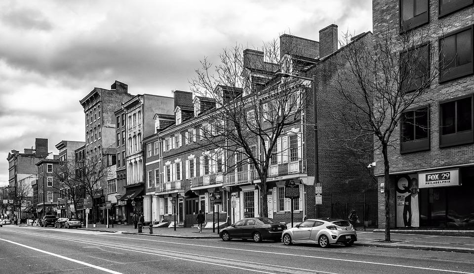 Market Street, Philadelphia, Philly, City, Urban
